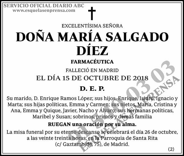 María Salgado Díez